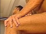 anal clips, enjoys, hardcore, muscular, tattooed