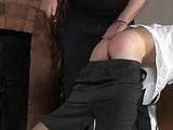 black, spank