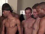 banged, bareback, bukkake boy, first, gangbang, interracial