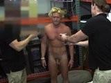 blonde, fellow, muscular, pawnshop, shop, toilet, young men
